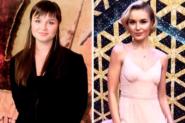 полина до и после похудения