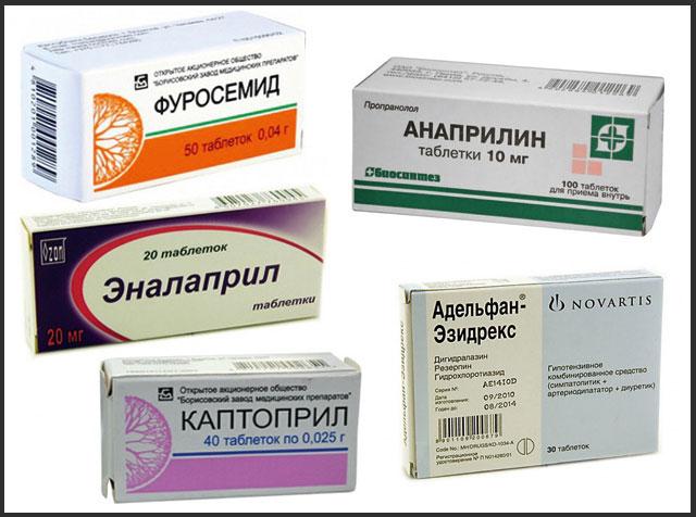 Таблетки от давления: список с названиями быстрого и ...